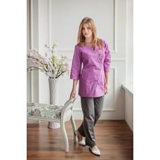 Женская медицинская блуза АССИМЕТРИЯ