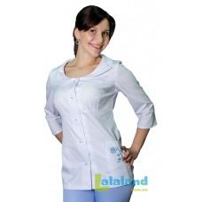 Женская медицинская блуза ЛАЙМ