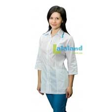 Женская медицинская блуза ТЮЛЬПАН